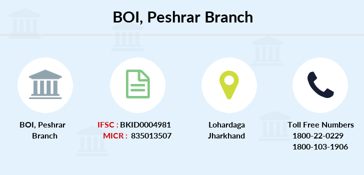 Bank-of-india Peshrar branch