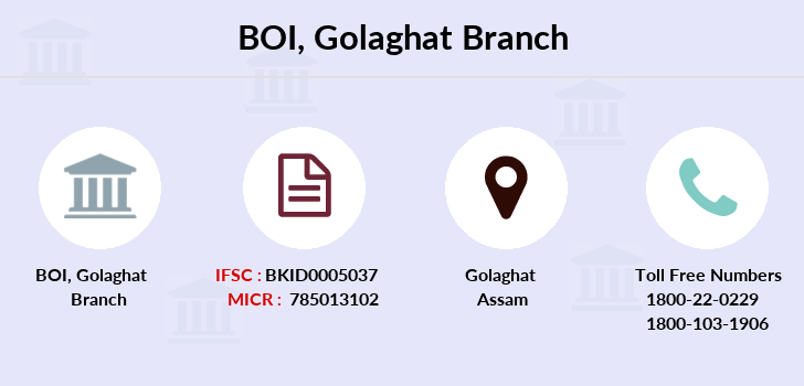 Bank-of-india Golaghat branch