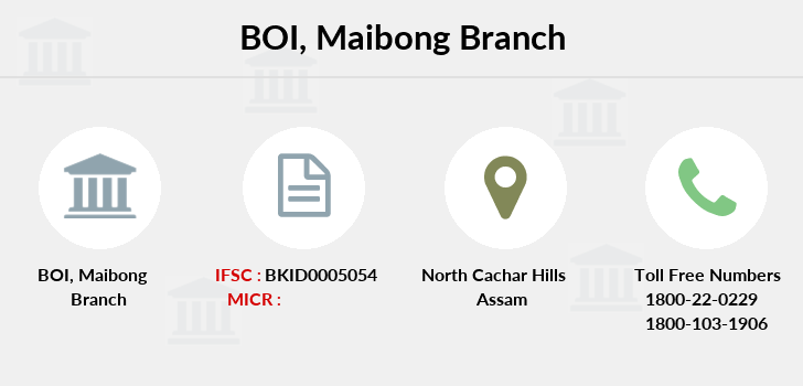Bank-of-india Maibong branch