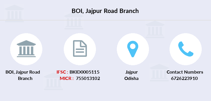 Bank-of-india Jajpur-road branch