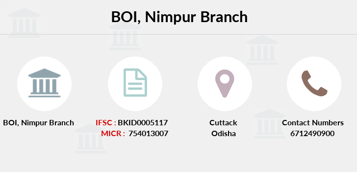 Bank-of-india Nimpur branch