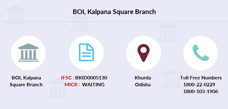Bank-of-india Kalpana-square branch