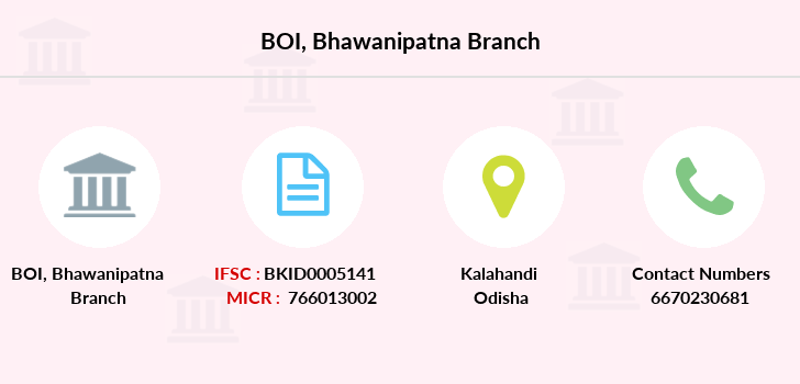 Bank-of-india Bhawanipatna branch