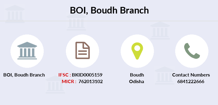 Bank-of-india Boudh branch