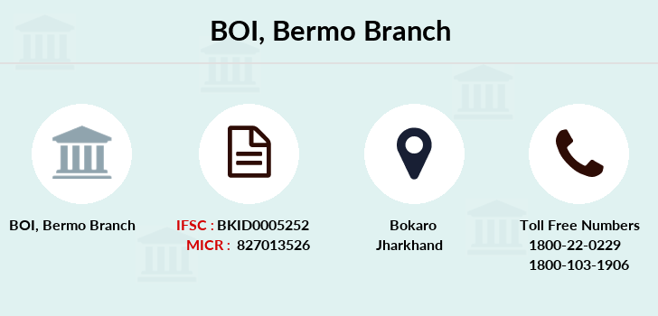 Bank-of-india Bermo branch