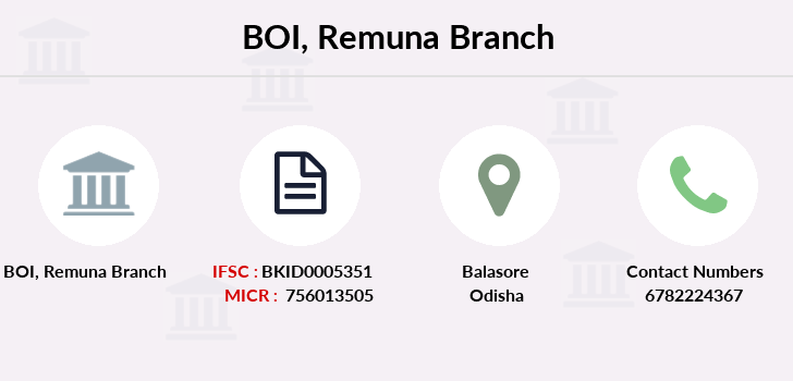 Bank-of-india Remuna branch