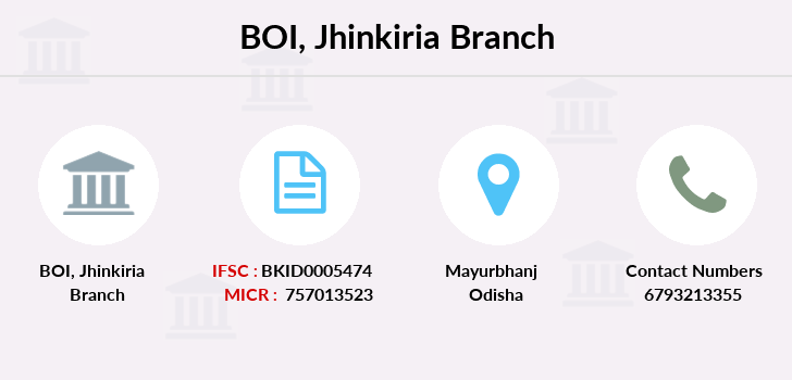 Bank-of-india Jhinkiria branch