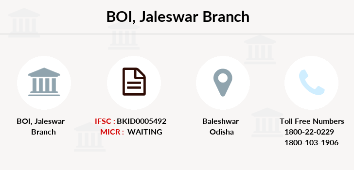 Bank-of-india Jaleswar branch