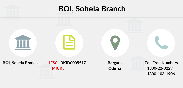 Bank-of-india Sohela branch