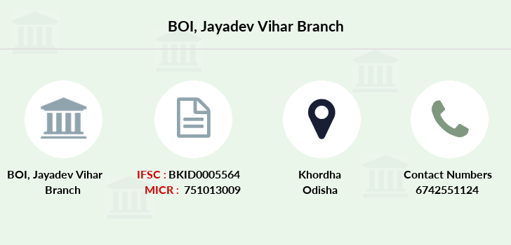 Bank-of-india Jayadev-vihar branch