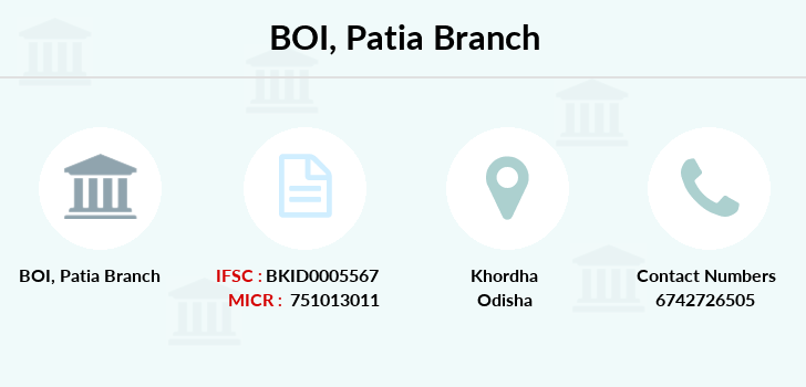 Bank-of-india Patia branch