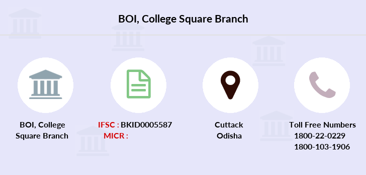 Bank-of-india College-square branch