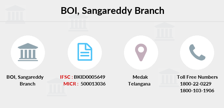 Bank-of-india Sangareddy branch