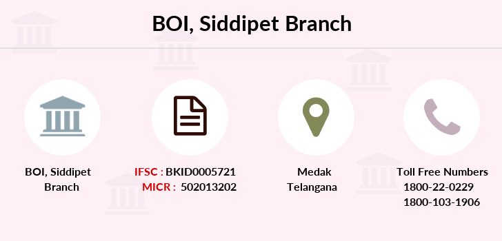 Bank-of-india Siddipet branch