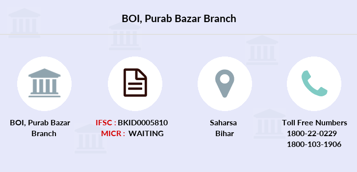 Bank-of-india Purab-bazar branch