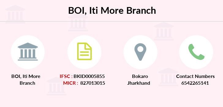 Bank-of-india Iti-more branch