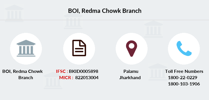 Bank-of-india Redma-chowk branch