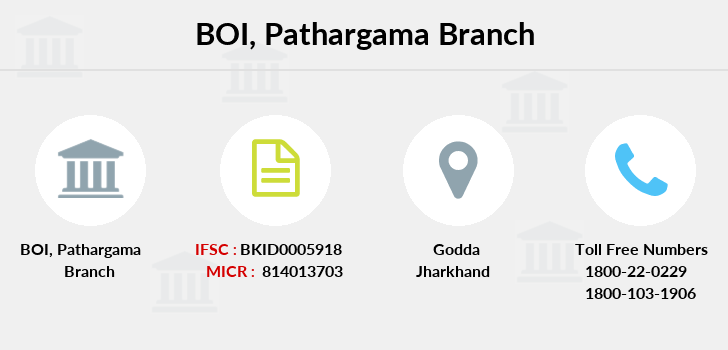 Bank-of-india Pathargama branch