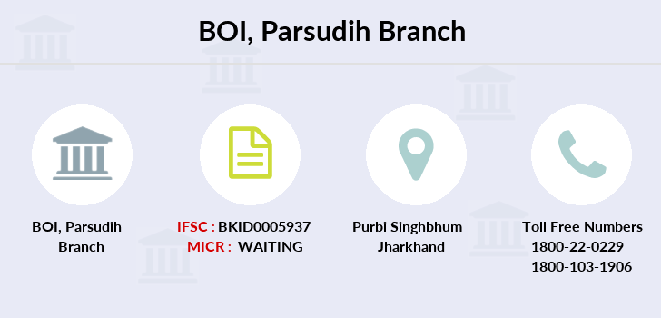 Bank-of-india Parsudih branch