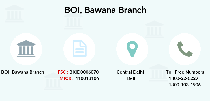 Bank-of-india Bawana branch