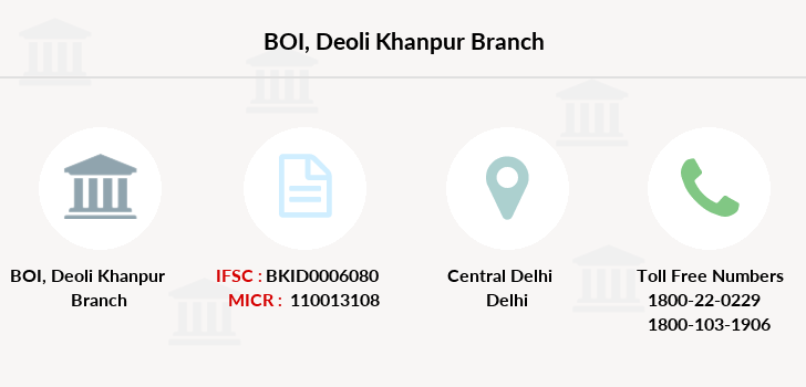Bank-of-india Deoli-khanpur branch