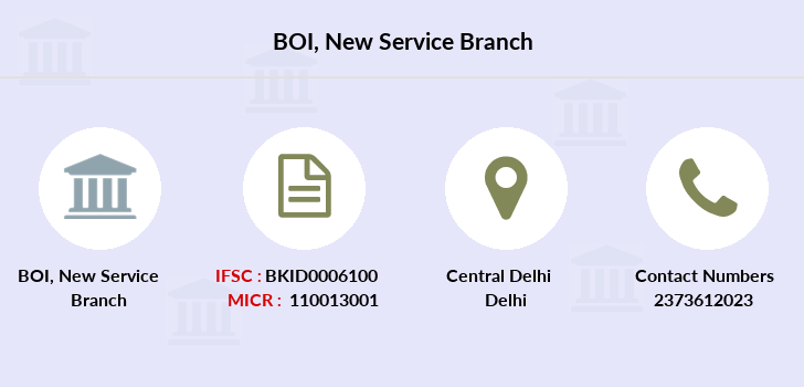 Bank-of-india New-service branch