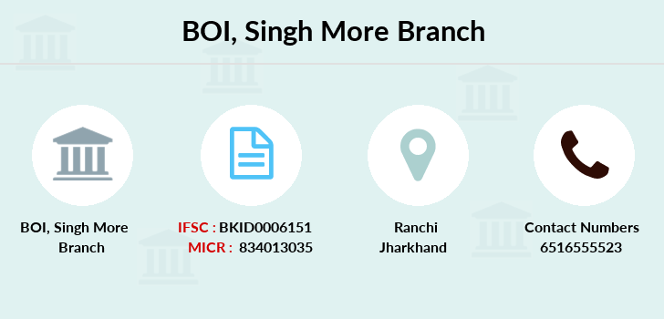 Bank-of-india Singh-more branch