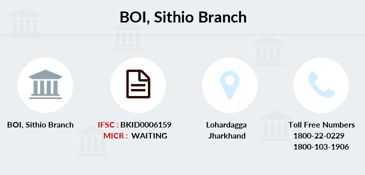 Bank-of-india Sithio branch