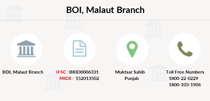 Bank-of-india Malaut branch