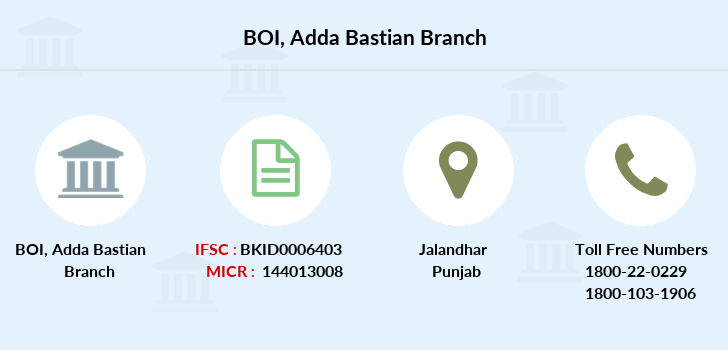 Bank-of-india Adda-bastian branch