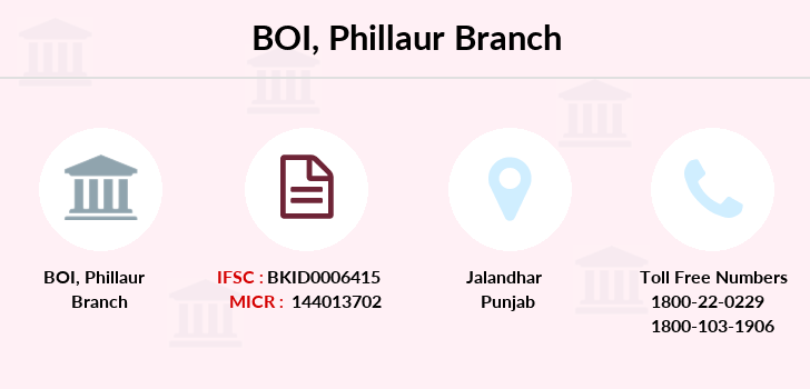 Bank-of-india Phillaur branch