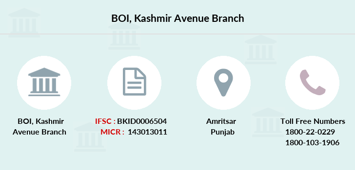 Bank-of-india Kashmir-avenue branch