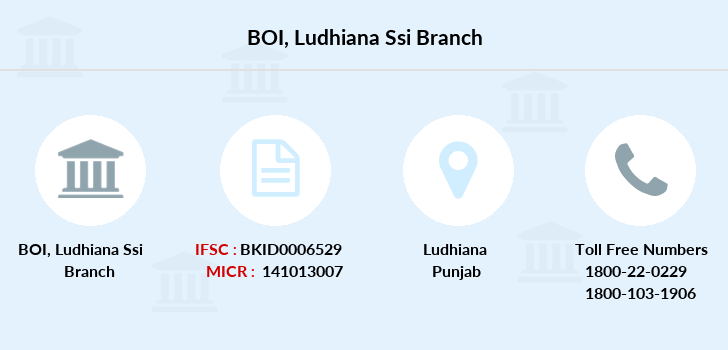 Bank-of-india Ludhiana-ssi branch