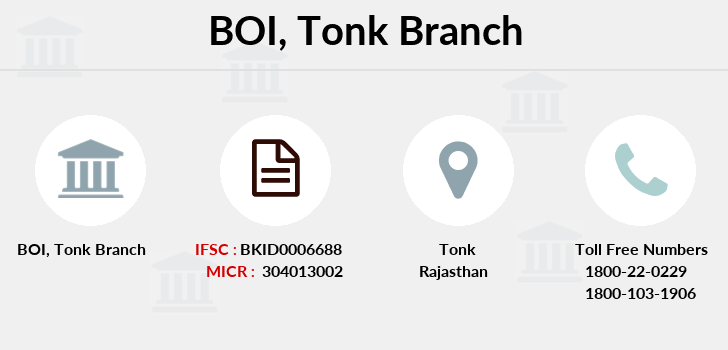 Bank-of-india Tonk branch