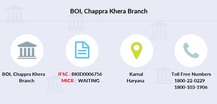 Bank-of-india Chappra-khera branch
