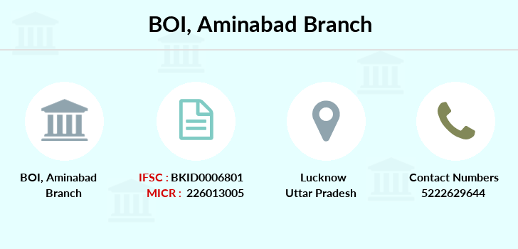 Bank-of-india Aminabad branch