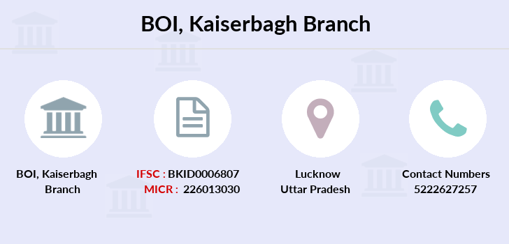 Bank-of-india Kaiserbagh branch