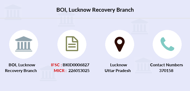 Bank-of-india Lucknow-recovery branch