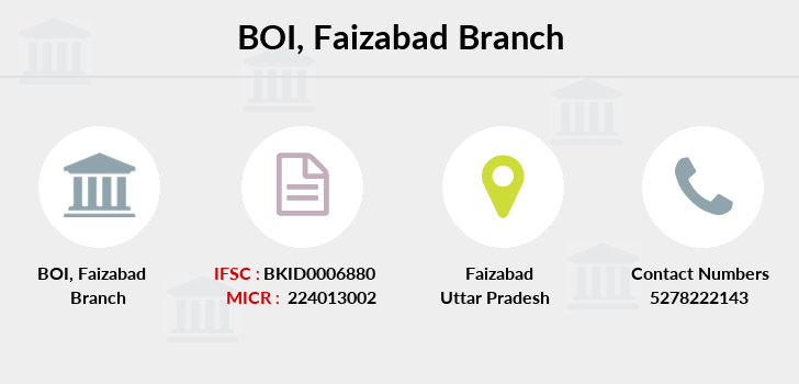 Bank-of-india Faizabad branch