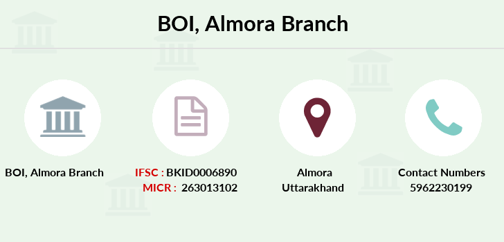 Bank-of-india Almora branch