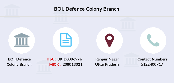 Bank-of-india Defence-colony branch