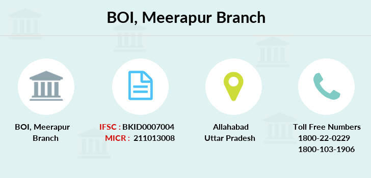 Bank-of-india Meerapur branch