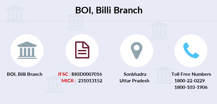 Bank-of-india Billi branch