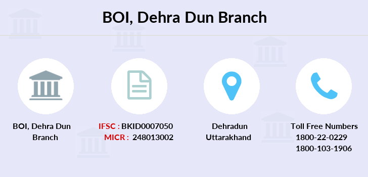 Bank-of-india Dehra-dun branch