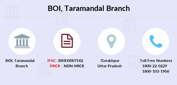 Bank-of-india Taramandal branch
