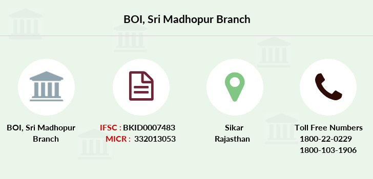 Bank-of-india Sri-madhopur branch