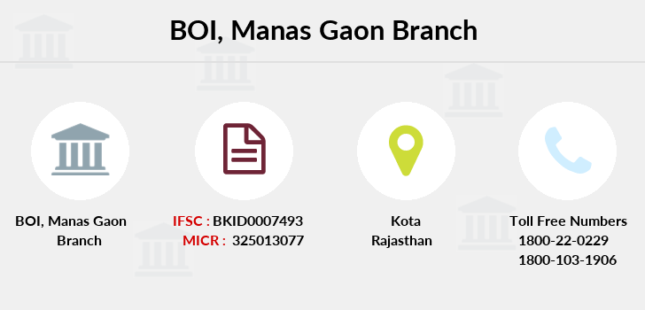 Bank-of-india Manas-gaon branch