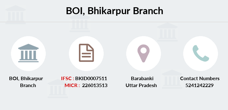 Bank-of-india Bhikarpur branch