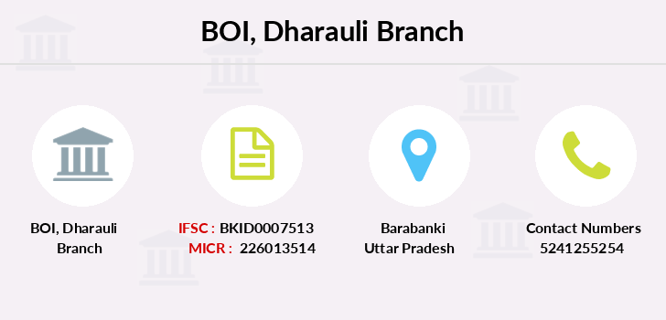 Bank-of-india Dharauli branch