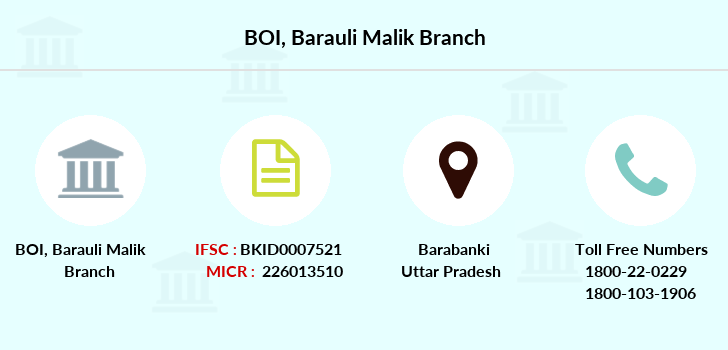 Bank-of-india Barauli-malik branch